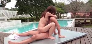 Phim sex HD đụ gái xinh tại hồ bơi không che
